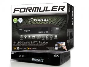 FORMULER - Купить, подключение и установка Спутниковый ресивер Formuler 4K S Turbo в Ташкенте