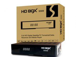 HD BOX - Купить, подключение и установка Комбинированный ресивер HD BOX S500 в Ташкенте