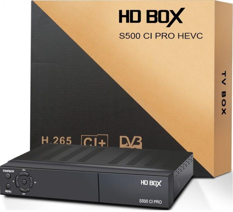 HD BOX - Купить, подключение и установка HD BOX S500 CI PRO в Ташкенте
