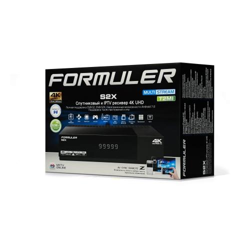 FORMULER - Купить, подключение и установка Formuler S2X в Ташкенте