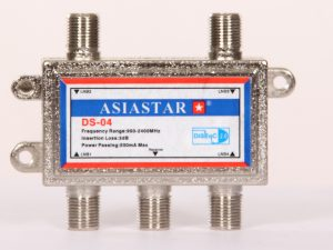 DiseqC и мультисвичи - Купить, подключение и установка DiSEqC 2.0 4x1 ASIASTAR в Ташкенте
