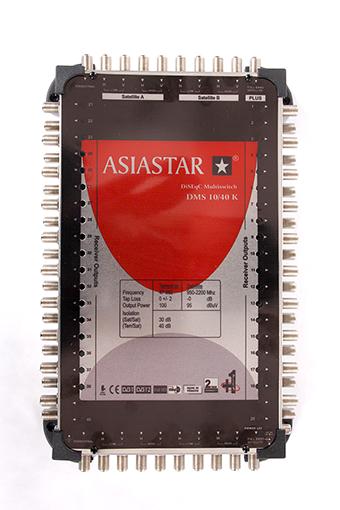 DiseqC и мультисвичи - Купить, подключение и установка ASIASTAR DMS-10×40 в Ташкенте