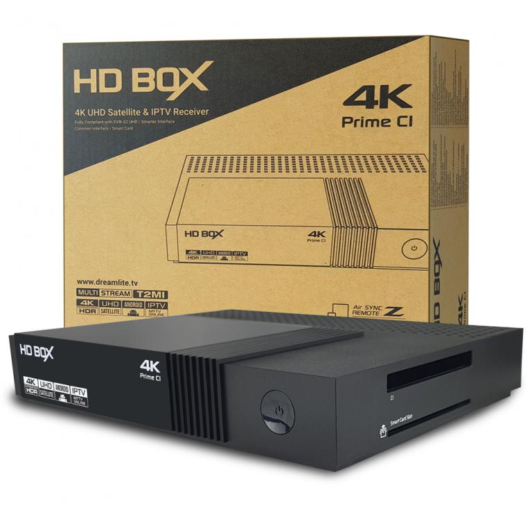 HD BOX - Купить, подключение и установка HD BOX PRIME CI 4K в Ташкенте